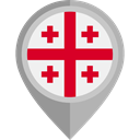 Georgia, placeholder, flags, Country, flag, Nation DarkGray icon