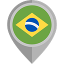 flag, brazil, placeholder, flags, Country, Nation OliveDrab icon