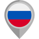 placeholder, flags, Country, Nation, flag, russia DarkGray icon