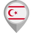 flag, placeholder, flags, Country, Nation, Northen Cyprus WhiteSmoke icon