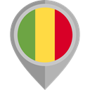 flags, Country, Nation, flag, Mali, placeholder DarkGray icon