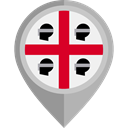 flag, placeholder, flags, Country, Nation, Sardinia DarkGray icon