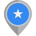 flag, Somalia, placeholder, flags, Country, Nation DodgerBlue icon