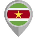 flag, Suriname, placeholder, flags, Country, Nation DarkGray icon