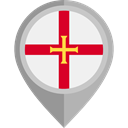 placeholder, flags, Country, Nation, flag, Guernsey WhiteSmoke icon