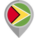 flag, Guyana, placeholder, flags, Country, Nation Black icon