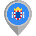flag, city, placeholder, flags, Region, Melilla DodgerBlue icon