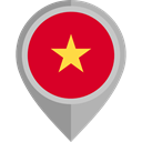 Vietnam, placeholder, flags, Country, flag, Nation Crimson icon