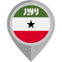 flag, Nation, Somaliland, placeholder, flags, Country DarkGray icon