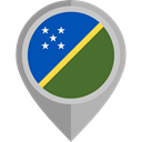 flag, placeholder, flags, Country, Nation, Solomon Islands DarkGray icon