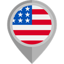 flags, Country, Nation, flag, united states, placeholder DarkGray icon