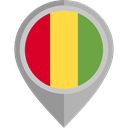 flag, guinea, placeholder, flags, Country, Nation DarkGray icon