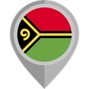 placeholder, flags, Country, Nation, flag, Vanuatu Black icon