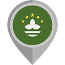 flag, placeholder, flags, Country, Nation, macao DarkOliveGreen icon