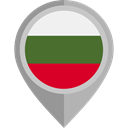 Country, Nation, flag, Bulgaria, placeholder, flags Icon
