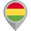 flags, Country, Nation, flag, Bolivia, placeholder DarkGray icon