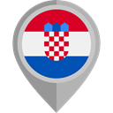 Croatia, placeholder, flags, Country, flag, Nation DarkGray icon