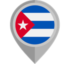 Cuba, placeholder, flags, Country, flag, Nation DarkGray icon