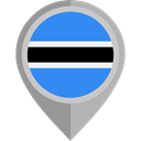 Nation, Botswana, placeholder, flags, Country, flag Black icon