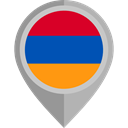 Country, Nation, flag, Armenia, placeholder, flags DarkGray icon