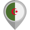 flags, Country, Nation, flag, Algeria, placeholder DarkGray icon