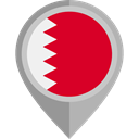 Bahrain, placeholder, flags, Country, flag, Nation Crimson icon