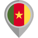 flag, Cameroon, placeholder, flags, Country, Nation DarkGray icon
