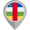 Central African Republic, placeholder, flags, Country, Nation, flag DarkGray icon