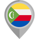flags, Country, Nation, flag, Comoros, placeholder DarkGray icon