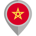 flag, morocco, placeholder, flags, Country, Nation Crimson icon