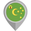 flags, Country, Nation, Cocos Island, flag, placeholder OliveDrab icon