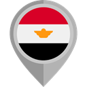 flag, Egypt, placeholder, flags, Country, Nation Black icon