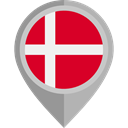 placeholder, flags, Country, Nation, flag, Denmark Crimson icon