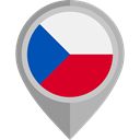 flag, placeholder, flags, Country, Czech republic, Nation DarkGray icon