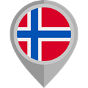 flags, Country, Nation, flag, Norway, placeholder DarkGray icon