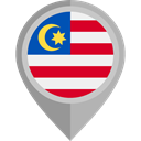 Nation, malaysia, placeholder, flags, Country, flag DarkGray icon