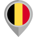 flag, Belgium, placeholder, flags, Country, Nation Black icon
