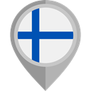 flag, Nation, finland, placeholder, flags, Country WhiteSmoke icon