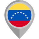 flag, Venezuela, placeholder, flags, Country, Nation DarkGray icon