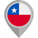 flag, Chile, placeholder, flags, Country, Nation Icon