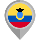 Ecuador, placeholder, flags, Country, flag, Nation Black icon