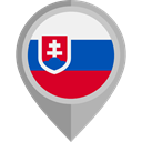 flag, Slovakia, placeholder, flags, Country, Nation DarkGray icon