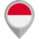 Country, Nation, flag, placeholder, flags, monaco DarkGray icon