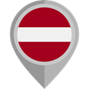 flag, Latvia, placeholder, flags, Country, Nation DarkRed icon