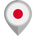 flag, japan, placeholder, flags, Country, Nation WhiteSmoke icon