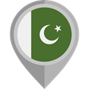 flag, Pakistan, placeholder, flags, Country, Nation DarkOliveGreen icon