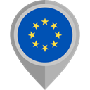 flags, Country, Nation, flag, european union, placeholder Teal icon
