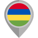 flag, Mauritius, placeholder, flags, Country, Nation DarkGray icon