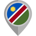 flag, Namibia, placeholder, flags, Country, Nation DarkGray icon