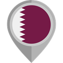 flag, Qatar, placeholder, flags, Country, Nation Brown icon